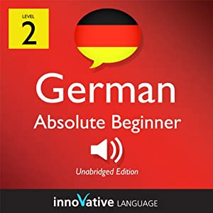 Learn German - Level 2: Absolute Beginner German, Volume 2: Lessons 1-25 | Livre audio