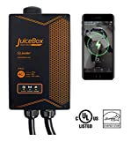 JuiceBox Pro 40 Smart Electric Vehicle (EV) Charging Station with WiFi - 40 amp Level 2 EVSE, 24-foot cable, NEMA 14-50 plug, UL and Energy Star Certified, Indoor / Outdoor Use
