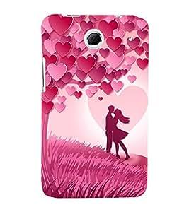 Valentines Day Special 3D Hard Polycarbonate Designer Back Case Cover for Lenovo K880