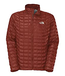 The North Face ThermoBall Full Zip Jacket - Men\'s Brick House Red Small