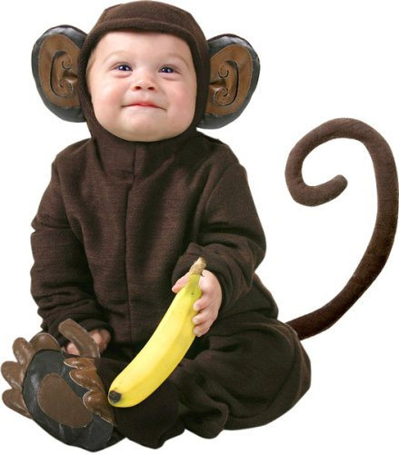 Cute Infant Baby Monkey Halloween Costume 12-18 Months  sc 1 st  Infant Costumes for Halloween : 18 months halloween costumes  - Germanpascual.Com