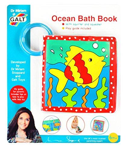 Galt Toys Inc Dr Miriam Ocean Bath Book