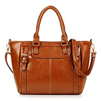 SHENGXILU Women's PU Leather Handbag