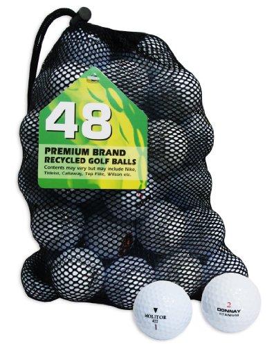 Second Chance Fila Molitor Ram Penn Set 48 Palline da Golf, Categoria A, Bianco, 48