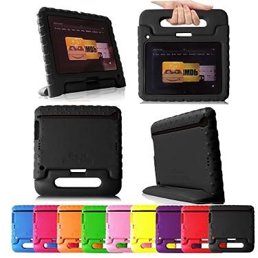 "Fintie (Black) Casebot Kiddie Series Light Weight Shock Proof Handle Case for Kids Specially made for Kindle Fire HD 7 (will only fit Kindle Fire HD 7"" 1st Generation 2012)"