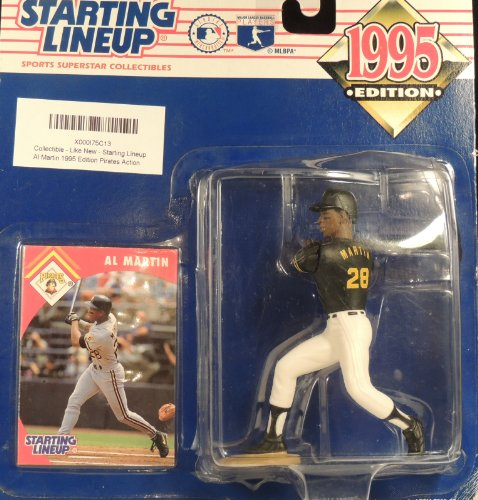 Starting Lineup Al Martin 1995 Edition Pirates Action Figure