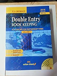 Double Entry Book Keeping accounting for partnership firms vol. I class 12
