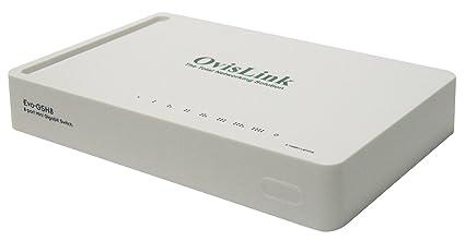 Ovislink EVO-GSH8 Switch Gigabit, 8 ports Auto-MDI/MDIX