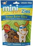 Nootie Mini Yumzies Grain Free Peanut Butter Flavor Natural Chicken Treats, Half Pound