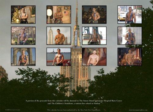 New York City Firefighters Calendar