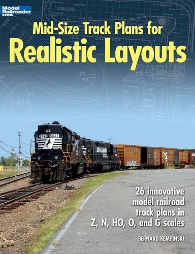 Mid-Size Track Plans for Realistic Layouts (Model Railroader)