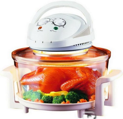 NEW 12 LITRE PORTABLE HALOGEN CONVECTION OVEN 1300W