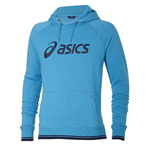 Asics Logo-Felpa con cappuccio della Nuova Zelanda blu XXL