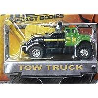 Tonka Metal Diecast Bodies - Tow Truck - Green/Black