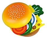 Happy People 45031 - Madera-hamburguesas, juguetes de cocina