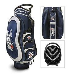 Winnipeg Jets NHL Cart Bag - 14 way Medalist - TGO-15935 by Team Golf