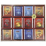 Bentley's Finest Teas Wood Grain Tea Chest, Variety Pack of 6 Flavors, Tea Bags, 120 Count Box ~ Bentley's