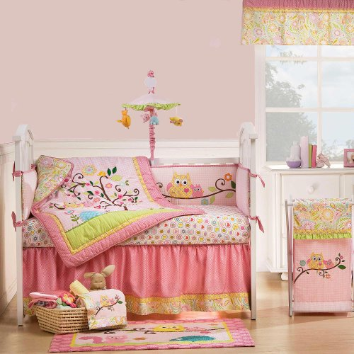 Dena Happi Tree 9 Piece Baby Crib Bedding Set by Kidsline - 1