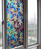 Static Window Films 3 Meters PVC Films Glass Sticker Non-glue Fork Art Glass Poster Bathroom