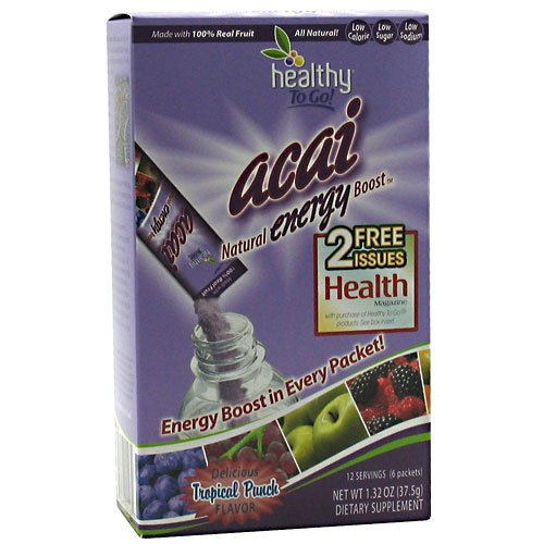 Acai Energy Boost 6 Pk - To Go Brands