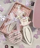 Pink Rocking Horse Bookmark