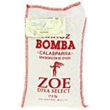 Zoe Brand Diva Select Bomba Rice, 17.5 Oz Bag (Pack of 2) ~ Zoe