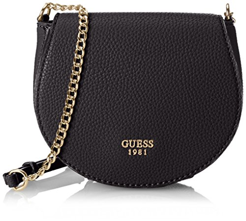 GUESS Cate Petite Saddle Bag Black