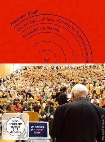 Alexander Kluge - Theorie der Erzählung/Frankfurter Poetikvorlesungen [2 DVDs] [Edizione: Germania]