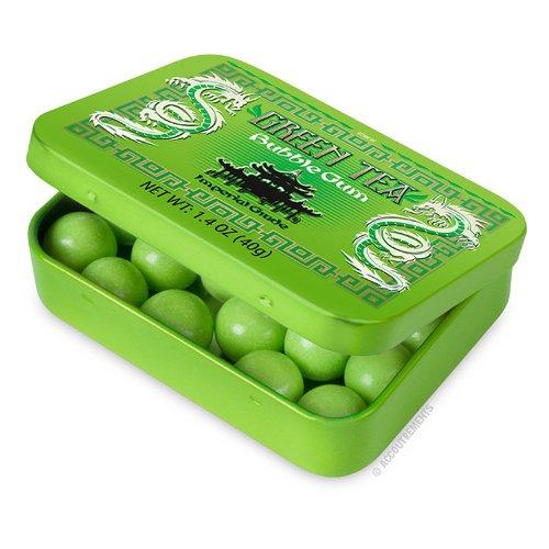 Accoutrements Green Tea Bubble Gum, #12251