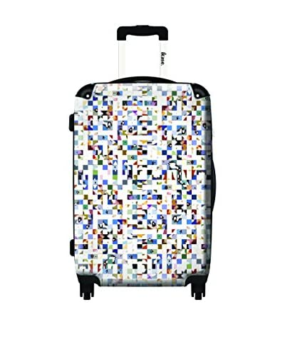 Ikase 24″ Sound Of The Crowd Rolling Luggage, Multi