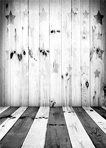 Daniu Children Photography Backdrops Vinyl Photo Studio Props Background Wooden Floor 5x7FT QX048 (Photography Props For Kids compare prices)