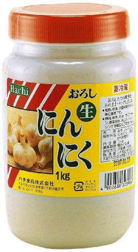 ハチ食品 ハチ おろしにんにく容器入り1kg
