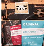 Pacific Gold Original Beef Jerky, the perfect snack