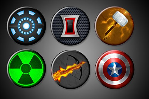 Avengers Magnets Marvel Captain Amercia Hulk Magnet Iron man Black Widow Thor Hawkeye Magnet (Marvel Magnets compare prices)