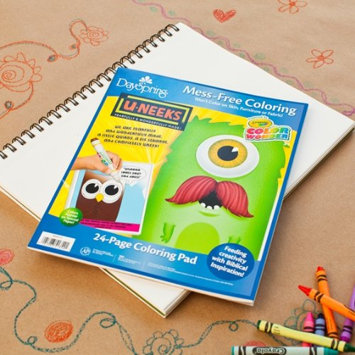 U-Neeks Christian Color Wonder Coloring Pad (51354)