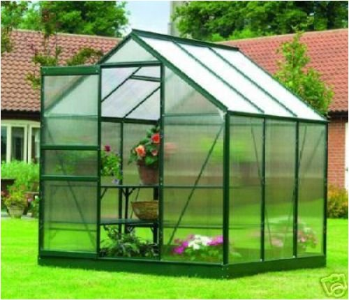 Aluminium Greenhouse 6ft x 6ft