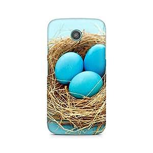 Mobicture Blue Eggs Premium Printed Case For Moto X