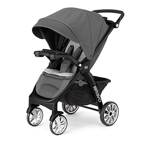 Best Deals! Chicco Bravo LE Stroller, Black/Grey