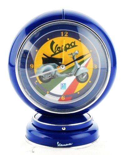 vespa-nostalgie-globe-alarm-clock-blau-analog-19-cm-neu-ovp
