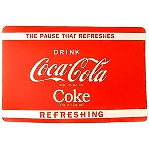 REVIMPORT - Sets de table par 12 polypro.décor Coca Cola *