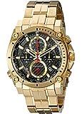 Bulova Men's 97B138 Analog Display Quartz Gold Watch