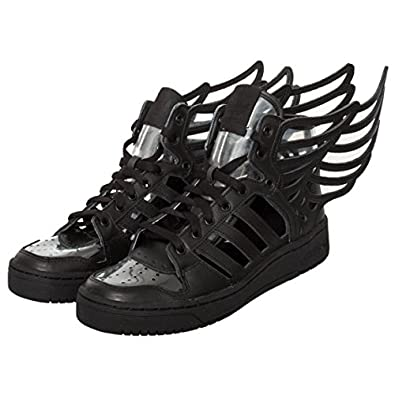 .com: Jeremy Scott Wings 2.0 Cutout Mens in Black by Adidas: Shoes