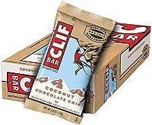 Clif Bar Barrita Energética de Avena con Coco y Pepitas de Chocolate - 12 Barritas