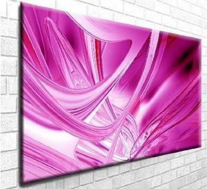 "Bliss Abstract Art, Stunning Chunky Canvas Art Print - Wall Art - Framed Ready to Hang (30"" x 20"")"