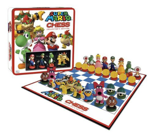 Picture of USAOPOLY Chess Super Mario Figure (B00168PI9S) (USAOPOLY Action Figures)