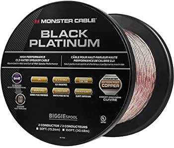 Monster 100' In-Wall Compact Speaker Cable