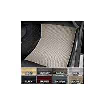 Introtech AutoSport Berber 1pc Rear Mat, Color: Black/Tan TO-743BC5116