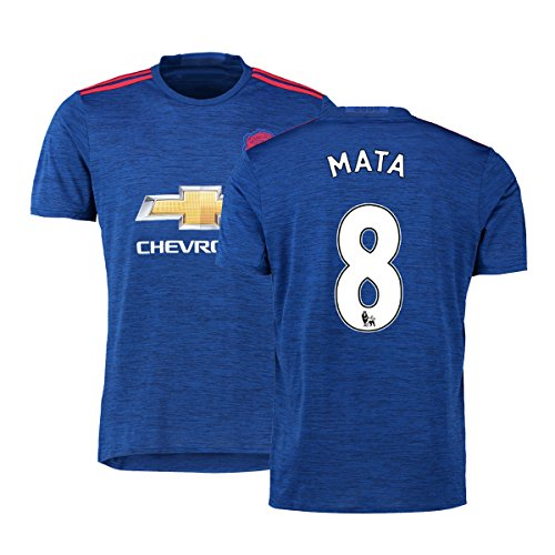 FC Football Jersey Mens Manchester United Soccer Jersey #8 Mata Blue M (Cheap Manchester United Jersey compare prices)