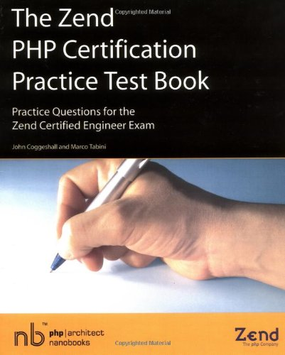 Zend PHP Certification Practice Test Book - Practice Questio