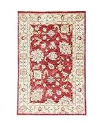L'Eden del Tappeto Alfombra Zigler Rojo / Crudo 148  x  98 cm